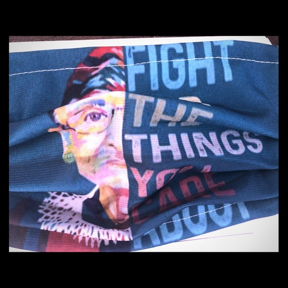 Fight for the things you care about RBG mask